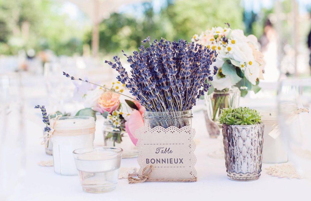 Un decor în flori de levănțică